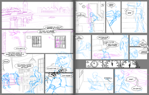 BtS Audition - Storyboards by GeoCaecias