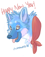 Happy New Year by chickensmoothie