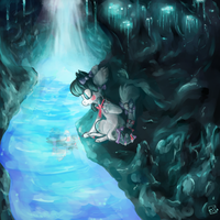 sponky cave prompt lmao by soul-candii