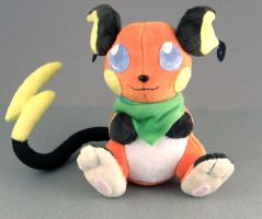 Raichu Plush by Patchwork-Shark