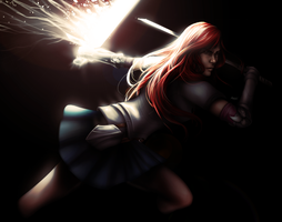 Erza -Fairy Tail- by KGanArt