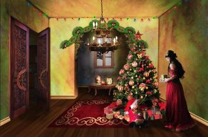 Christmas House - Manip by AlisonEnchanted