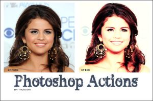 Photoshop Actions 2 by ASHOOR