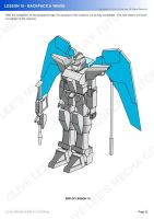 Gundam mecha cosplay tutorial - Lesson 10 - 5 by Clivelee