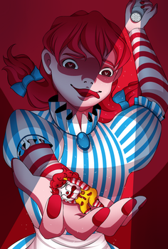 Wendys and Mcdonald by LOUISalem