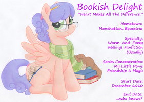 Bookish Delight (Complete Form) by BookishDelight