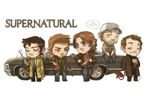 SPN [commission] by JoannaJohnen