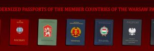 Passports of the Warsaw Pact by Wyco