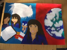 Painting for College by BlueRoseAngel15