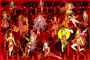 Walpurgis Night (2012 Collabs) by God-of-All-Monsters