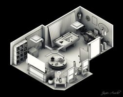 Interior Isometric by aroche