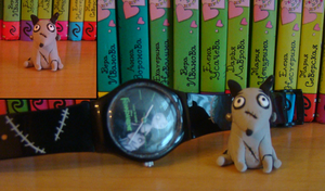 Frankenweenie: Sparky figure by LeenaKill