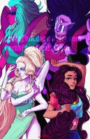 Fusion Crystal Gems! by CerboPhix