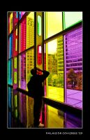 The Colorful Curtain Wall by hellishknight