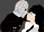 Kirsty and Pinhead. by cheeky-minx2009