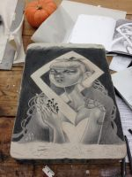 litho stone by unclepatrick
