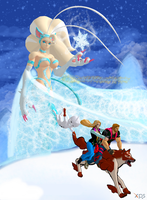 Capcom does Frozen by NekoHybrid