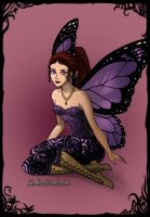 Meg Dark-Fairy-Azaleas-Dolls by InvisibleDorkette
