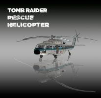 TOMB RAIDER: Rescue Helicopter by doppelstuff