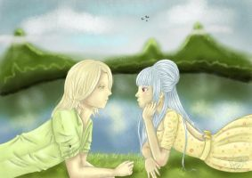 Can'take my eyes from you by Kinmi