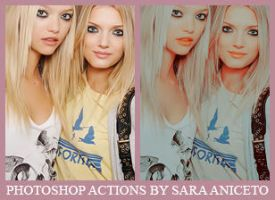 Photoshop Actions - 11 by saraaniceto