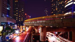 Bangkok Lights by comsic
