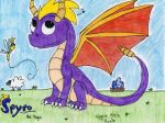 Spyro the Dragon- The Classic Look by FlygonPirate
