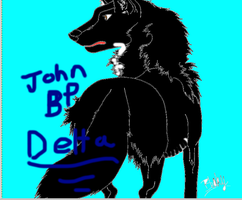 John BP Delta (BP-Blood Paws) by KaliFHunter20