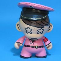 PINK ADOLF munny MARK RYDEN by ibentmywookiee