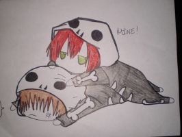 Frerard: Drawing: Glomp/Mine by gerardismylover