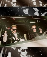 Bill and Tom kaulitz Car by StephiKaulitz