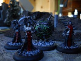 Cryx Witch Coven by SephKnight