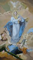 Immaculate Conception by halupka
