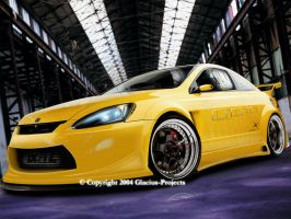 Honda Accord Concept 1 version by Glacius-Projects
