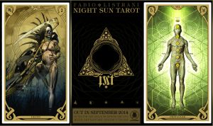 NIGHT SUN TAROT - XIII - VIIp by FabioListrani