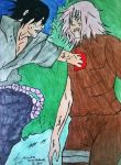 Naruto Shippuden -Sakura and Sasuke(Drawing by AS) by AsDrawings