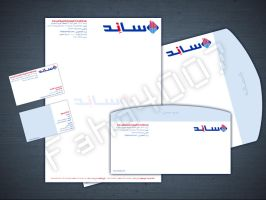Corporate ID Stationary - SANID by fahd4007