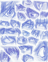 Light Yagami's Eyes by FeenixDOWN