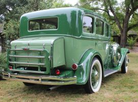 1932 Chrysler trunk by finhead4ever