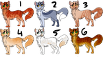Cat Adopts .:20 POINTS EACH:. by barn-owls