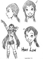 Witch-Hay Lin by CrimsonCrystalBlood