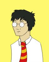 Unhappy Harry by FangsAndNeedles