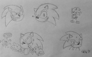 Sonic Sketchies by TheIransonic