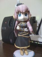 Megurine Luka chibi from Vocaloid papercraft by RoronoaZoro666