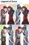 Legend of Korra Shipper Bookmarks by Shattered-Earth