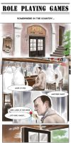 Role Playing Games Part.1ENG/Mystrade/sherlock BBC by IrvinIS