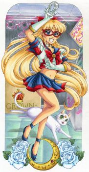 Sailor V by Aiko-Mustang