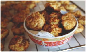 Oat Flake Cookies with Apples by pandrina