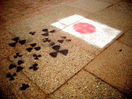 photo - pictures on pavement by Pandablubb