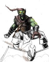 Green Goblin -unfinished- by antmanx68